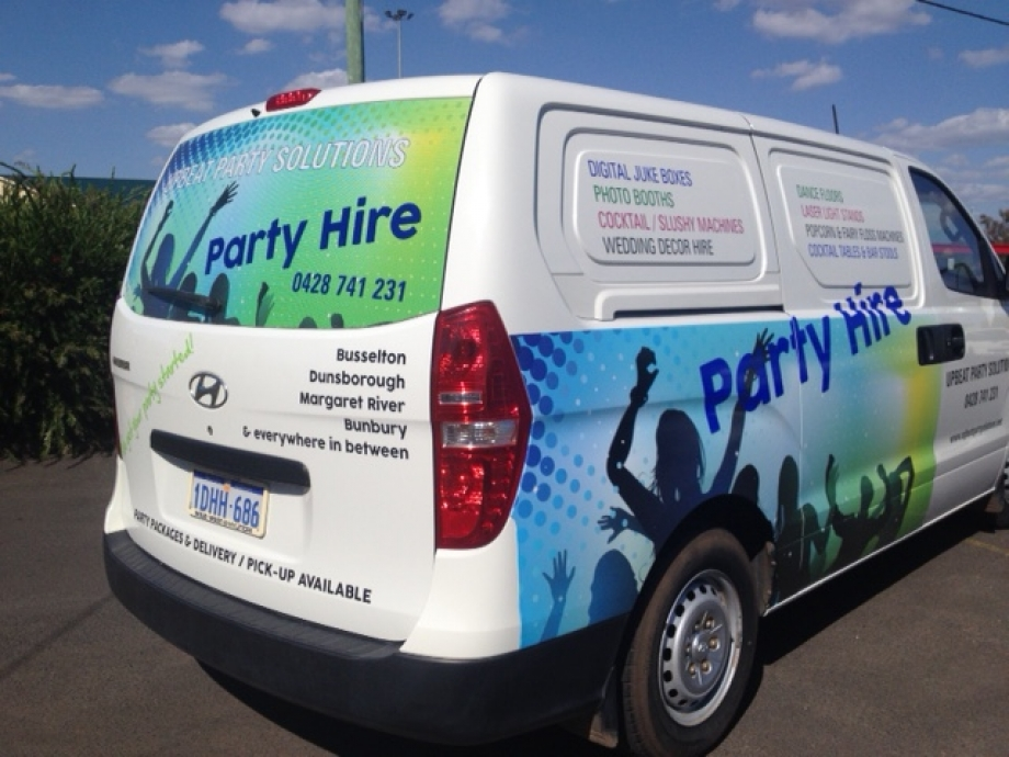 Partial Vehicle Wrap & One Way Vision
